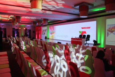MJ Event Gear create eye-catching event for Transnet
