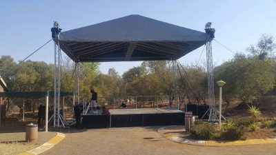 Roof Structure for Blackmotion Productions