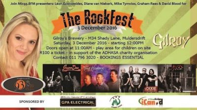 Mix FM Rockfest at Gilroy's Brewery
